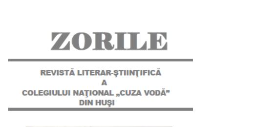 Revista Zorile